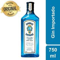 Gin Importado Bombay Saphire Garrafa 750ml - Bacardi -