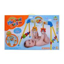 Ginasio playground e centro de atividades do bebe 3 em 1 musical com luz e mobile de berço chocalho - Faça  Resolva
