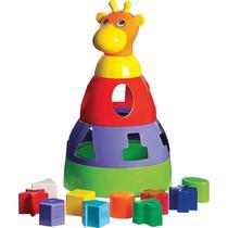 Girafa Baby Didático Formas Brinquedo Educativo- MERCOTOYS -