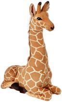 Girafa de Pelúcia Realista Safári - Fofy Toys - LC65 - 66cm -