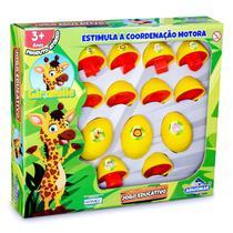 Girafa Giramille Quebra Cabeça Infantil Bebê Educativo - Adijomar