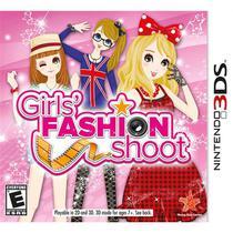 Girls Fashion Shoot Jogo Infantil Nintendo 3Ds D3publisher -
