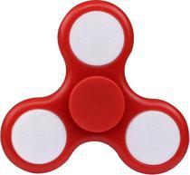 Giro Spinner - Fidget Hand Spinner Com LED - Vermelho - Dtc