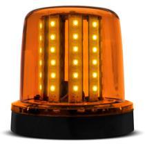 Giroflex Luz de Emergência Universal 54 LEDs 12V 10W Âmbar Giroled Fixação por Imã para Carro - Autopoli