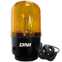 Giroflex Luz Emergência Universal 24 Leds Bivolt Âmbar Fixação Imã DNI -