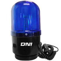 Giroflex Luz Emergência Universal 24 Leds Bivolt Azul Fixação Imã DNI -