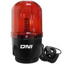 Giroflex Luz Emergência Universal 24 Leds Bivolt Vermelho Fixação Imã DNI -