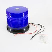 Giroled Luz de Emergência Sinalizador Bivolt 100 Leds Azul - DNI -