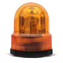 Giroled Luz de Emergência Sinalizador Universal 12V Âmbar Giroflex Fixação por Imã Carro - Lg ferramentas