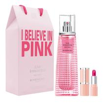 Givenchy Live Irrésistible Rosy Crush Kit - Perfume + Batom -