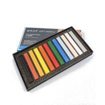 Giz CIS Graf Soft Pastel Seco c/ 12 Cores -