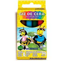 Giz de Cera 6 Cores Acrilex -