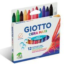 Giz De Cera Giotto Max Fluo   012 Cores  202202ES -