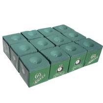 Giz Maxxi - Profissional Para Sinuca Verde - 12 Unidades - Maxxi Tacos