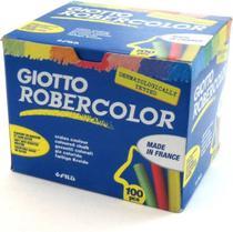 Giz Para Lousa Giotto Robercolor Anti Alergico 100 Un Colorido 539000  539000 -