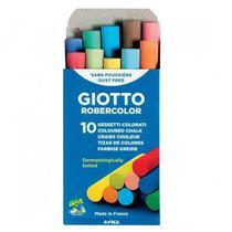 Giz Para Quadro Negro Giotto Antialergico Colorido Com 10 -