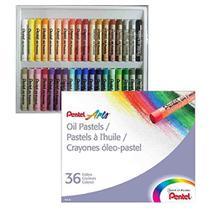 Giz Pastel Oleoso 36 Cores Pentel Arts -