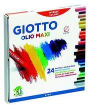 Giz Pastel Olio Giotto 24 cores -