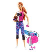 Gkh73 barbie fashionista dia de spa - Mattel