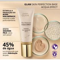 Glam Skin Perfection Base Líquida Acqua Effect, 30 ml - Eudora
