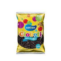 Globeti confeitos de chocolate 300g PRETO - Horizon