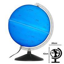 Globo Celeste Cielo 30cm Diâmetro Com Led Azul - Libreria -