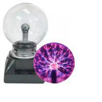 Globo De Plasma Light Luminária Raios  Bivolt Grande Bola De Cristal - Exclusivo