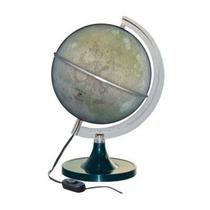 Globo Lunar Cinza Luminoso Lâmpada Led 21cm Diâmetro - Libreria