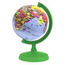 Globo terrestre 10cm baby millenium verde - 310085 - LIBRERIA