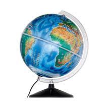 Globo Terrestre Físico 30 cm de diâmetro Ambiental - Libreria -