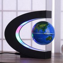Globo Terrestre Magnetico Flutuante Giratorio Anti Gravidade - Bola Azul