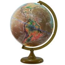 Globo terrestre satélite histórico 30cm - libreria 13765 -