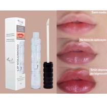 Gloss max love lip volumoso boca rosa saudavel com acido hiluronico  vegano -