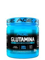 Glutamina 300g 100% Pura  Age -