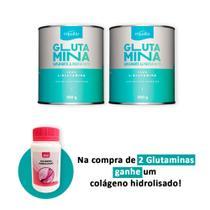 Glutamina 300g Compre 2 e Ganhe Colágeno Hidrolisado 60 caps - Equaliv
