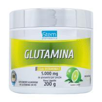 Glutamina em Pó com Vitamina C (200g) - Stem Pharmaceutical -