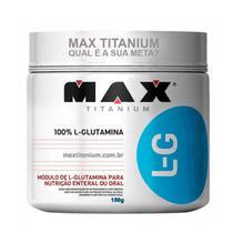 GLUTAMINA L-G - 150g MAX TITANIUM - Max  Titanium