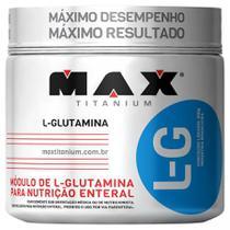 Glutamina L-g 300g - Max Titanium - Probiótica