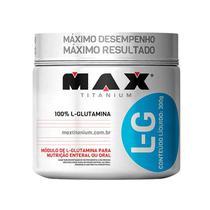 Glutamina L-G 300G Max Titanium -