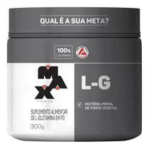 Glutamina L-G Max Titanium - 300g -