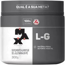 Glutamina L-G Pote 300g - Max Titanium -