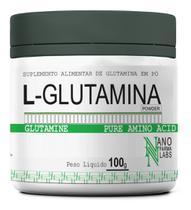 Glutamina Powder Pura em Pó - Nano Farma Labs - 100g -