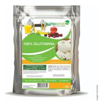 Glutamina Pura 1kg + Creatina Pura Importada 1kg + Brinde - Nutranatus