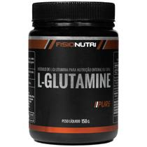 Glutamina pura - aumente sua imunidade 150g - Fisionutri