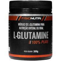 Glutamina pura -  aumente sua imunidade 300g - Fisionutri