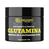 Glutamina Pura Gelfort 100g - Gelfort Nutrition