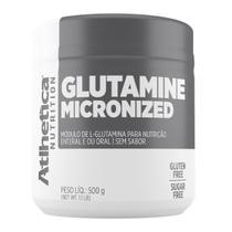 Glutamine 500 g - atlhetica nutrition -