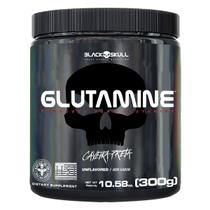 Glutamine caveira preta - glutamina - 300g -