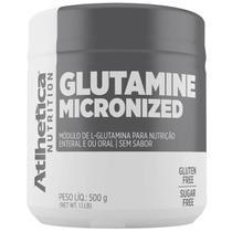 Glutamine Micronized Evolution Series - 500g Glutamina - Atlhetica Nutrition -
