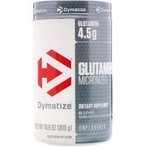Glutamine micronized sem sabor - dymatize 300g -